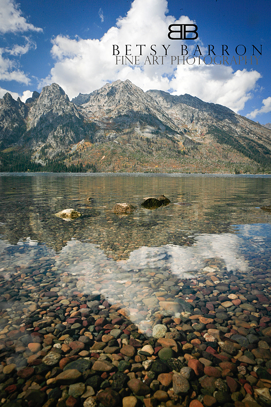 tetons, wyoming, blue, reflection, clouds, lake