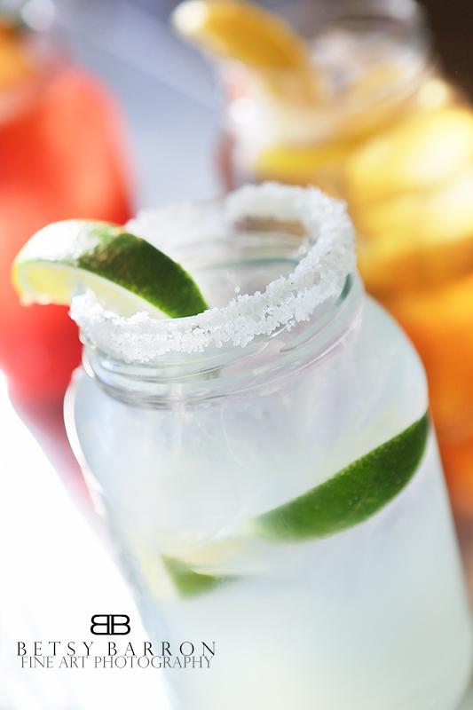 margarita, glass, jar, salt, lime, drink, cocktail
