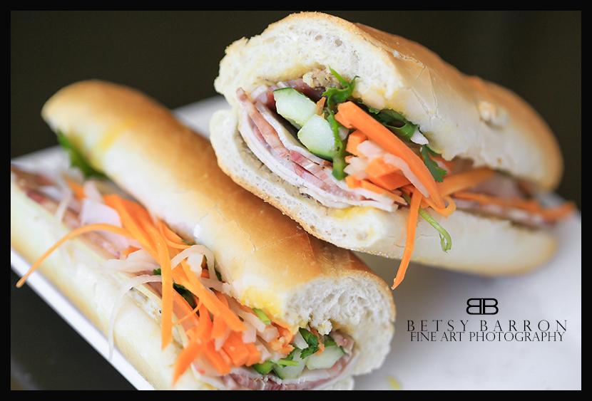 vietnamese, sandwich, banh, mi, bread, pate, orang