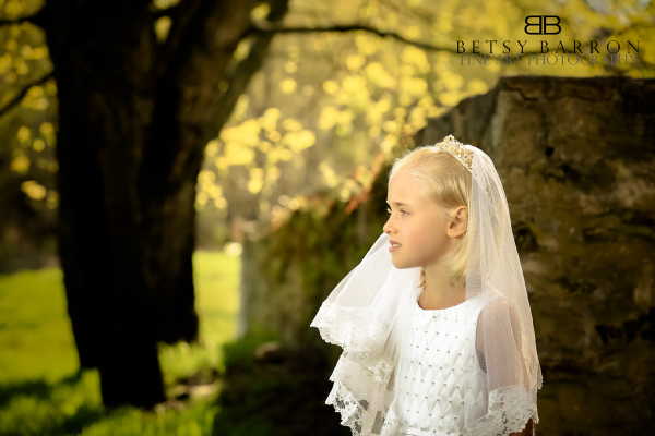 holy, communion, white, dress, girl, religious