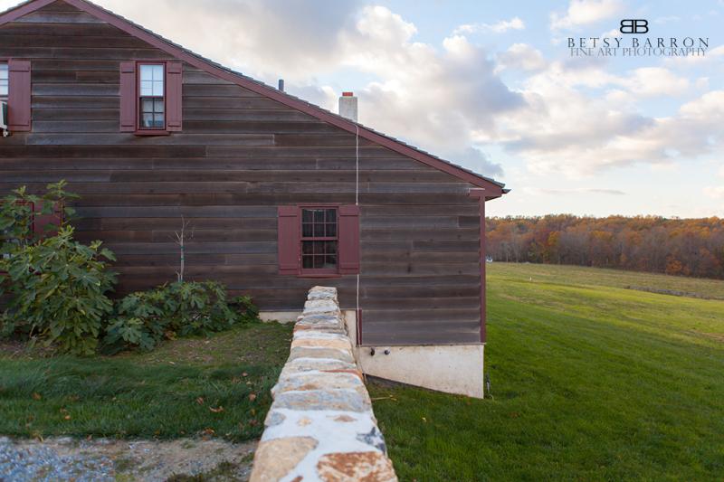 farm, house, stone, grass, wyebrook