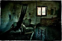 Desolated abandoned places grunge style