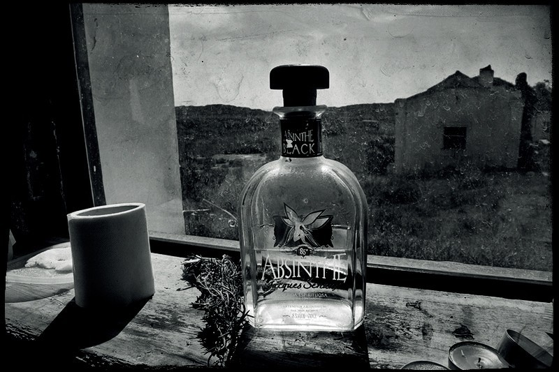 The poetry of the absinthe