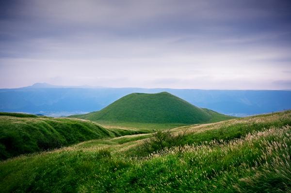 landscape japan volcano