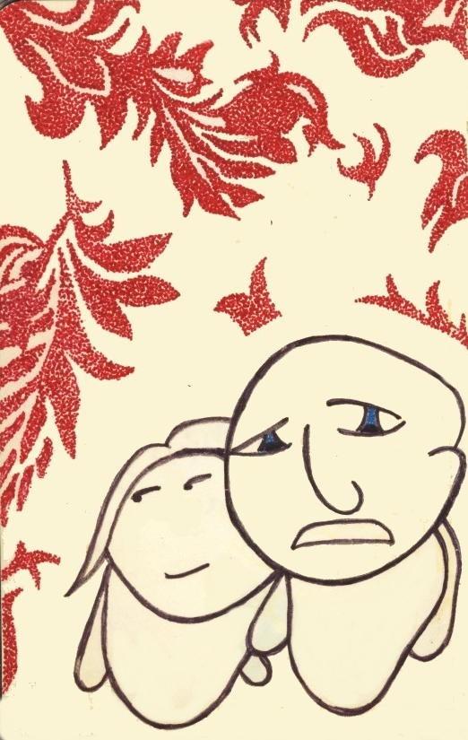 Jason Maxey couple cartoon