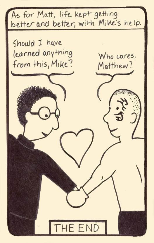 Jason Maxey Matt Timms HR Booby Trap cartoon comic