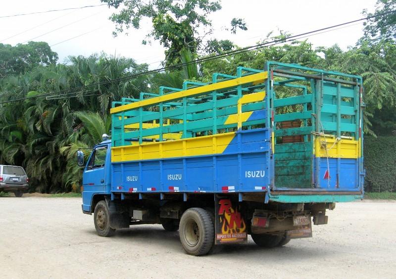 costa rican truck