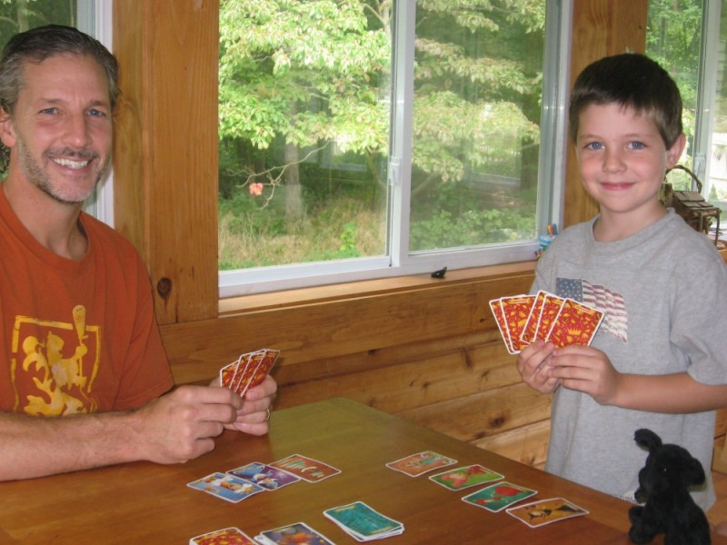 cards before school
