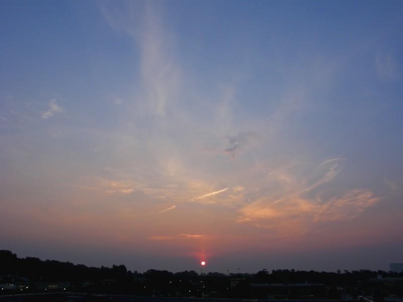 Raleigh Sunrise 070809