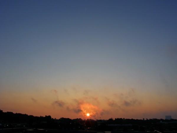 Raleigh Sunrise 070812
