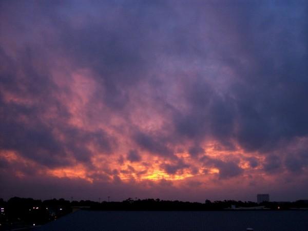 Raleigh Sunrise 050914