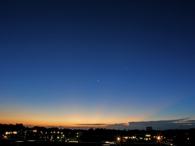 Raleigh Sunrise 070909