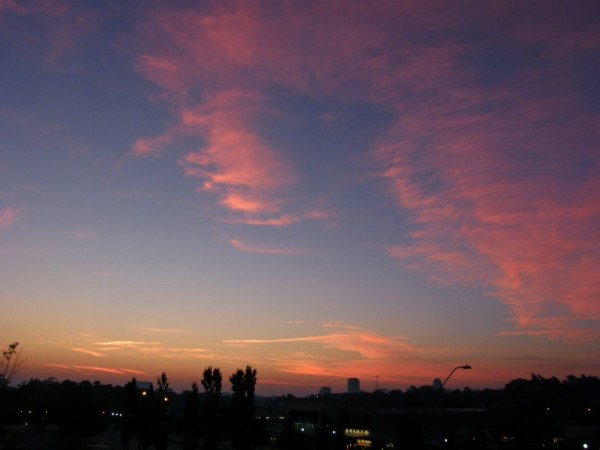 Raleigh Sunrise 20071016