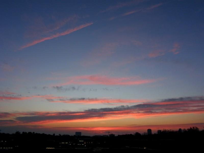 Raleigh Sunrise 20080209