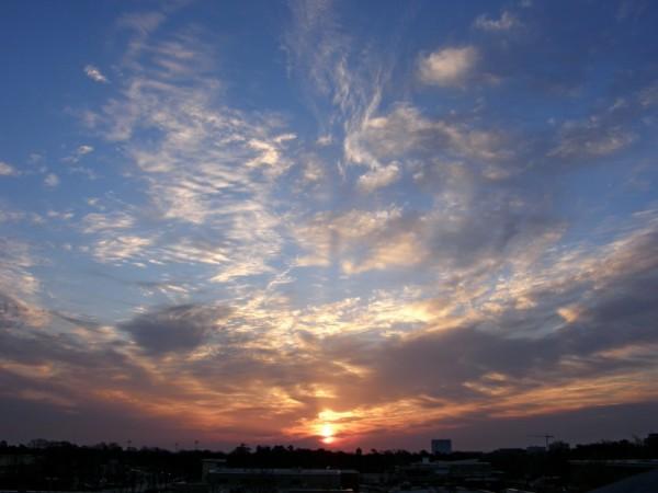 Raleigh Sunrise 20080322