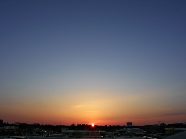 Raleigh Sunrise 20080323