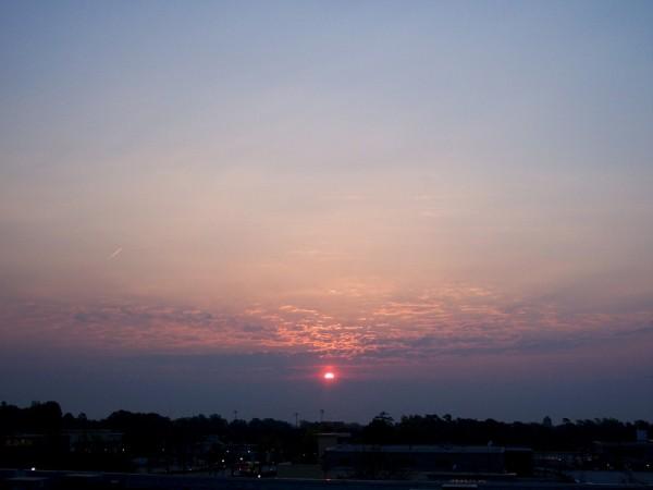 Raleigh Sunrise 20050420