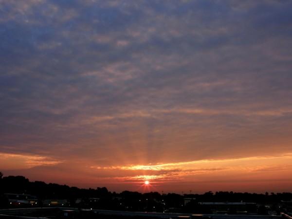 Raleigh Sunrise 20080726