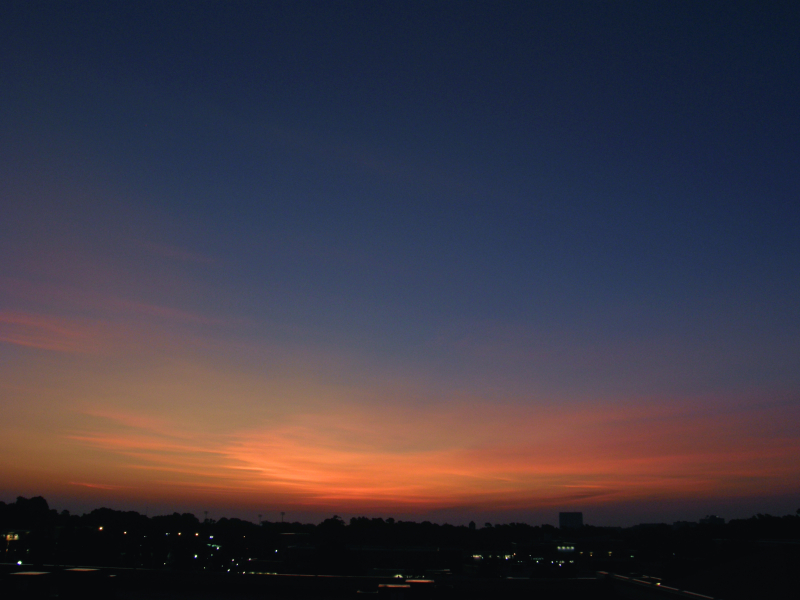 Raleigh Sunrise 20080905