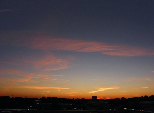 Raleigh Sunrise 20081022