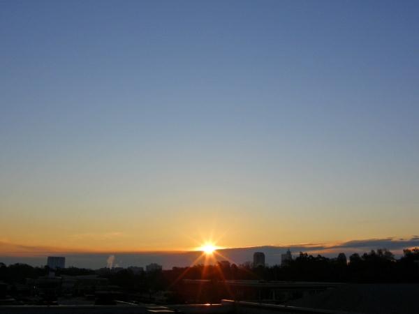 Raleigh Sunrise 20081123