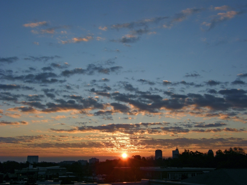 Raleigh Sunrise 20081125