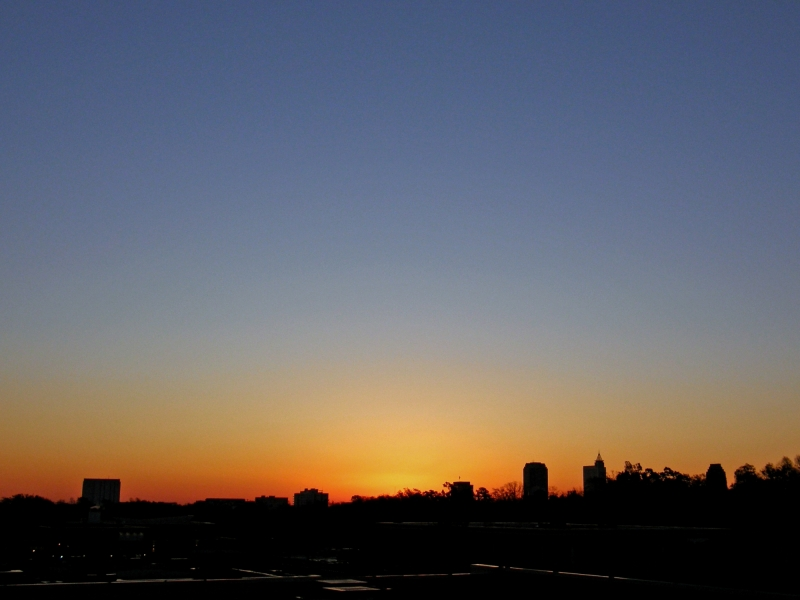 Raleigh Sunrise 20081126
