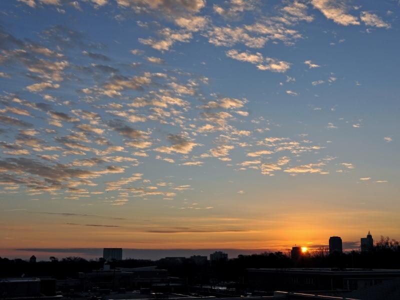 Raleigh Sunrise 20081226