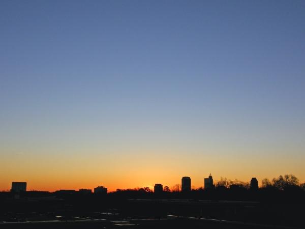 Raleigh Sunrise 20081230