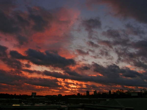 Raleigh Sunrise 20090107