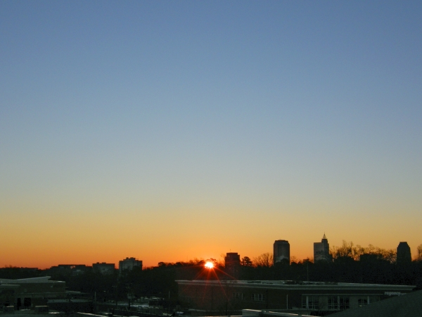 Raleigh Sunrise 20090109
