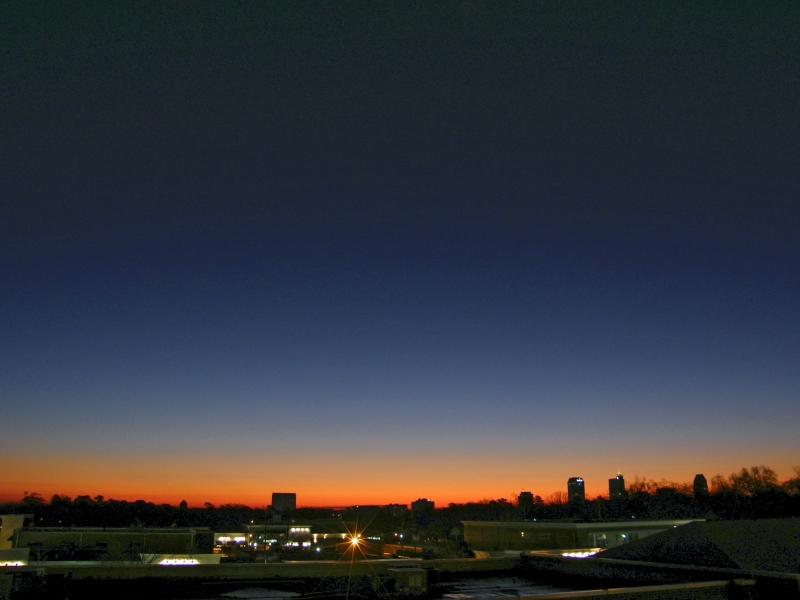 Raleigh Sunrise 20090110