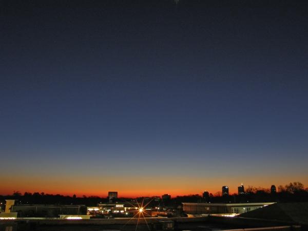 Raleigh Sunrise 20090114