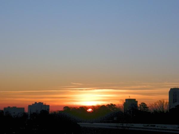 Raleigh Sunrise 20090116