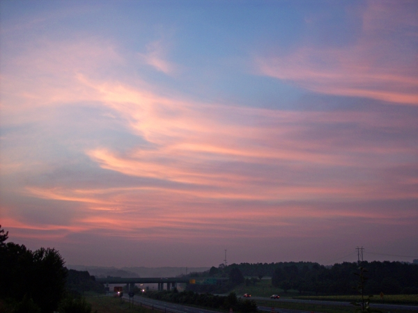 Cary Sunrise 20050625