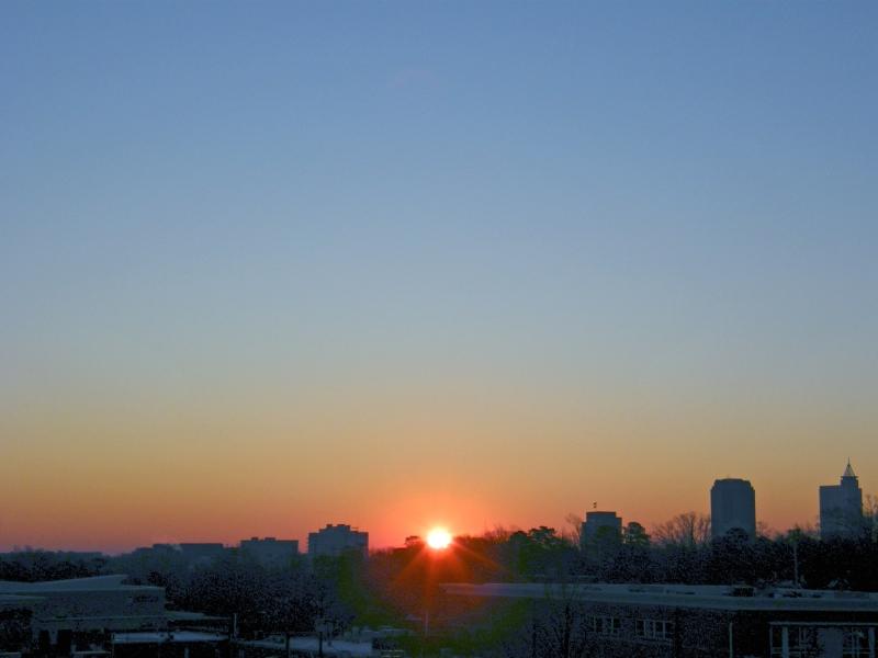 Raleigh Sunrise 20090122