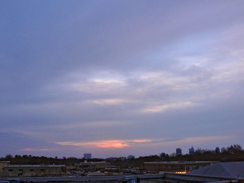 Raleigh Sunrise 20090124