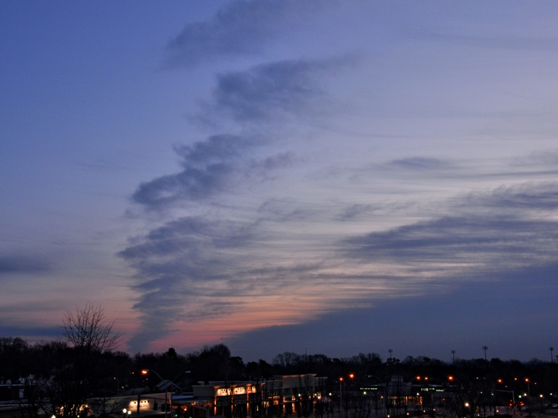 Raleigh Sunrise 20090130