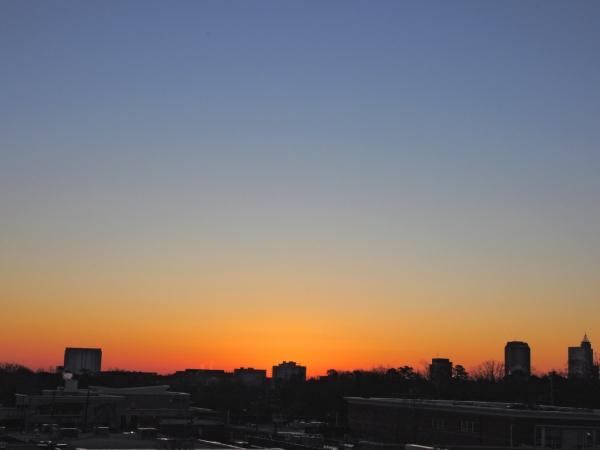 Raleigh Sunrise 20090131