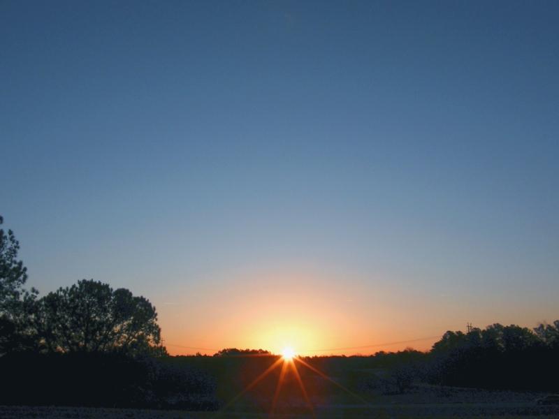 Cary Sunrise 20090201