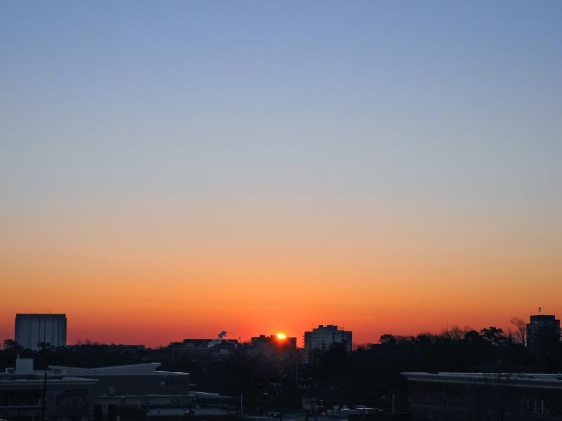 Raleigh Sunrise 20090205