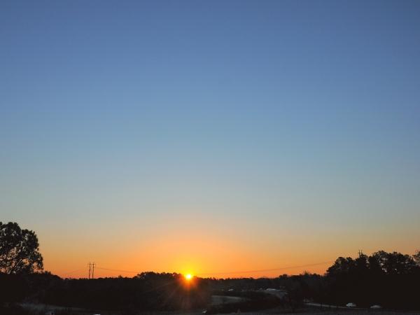 Raleigh Sunrise 20090206