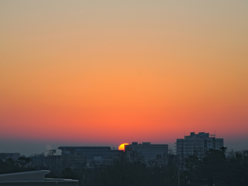 Raleigh Sunrise 20090207