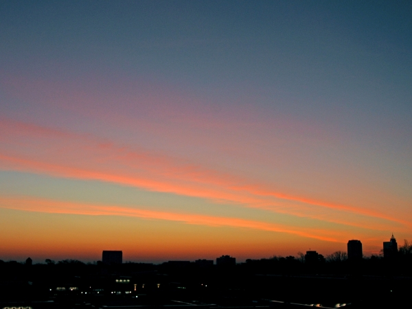 Raleigh Sunrise 20090209