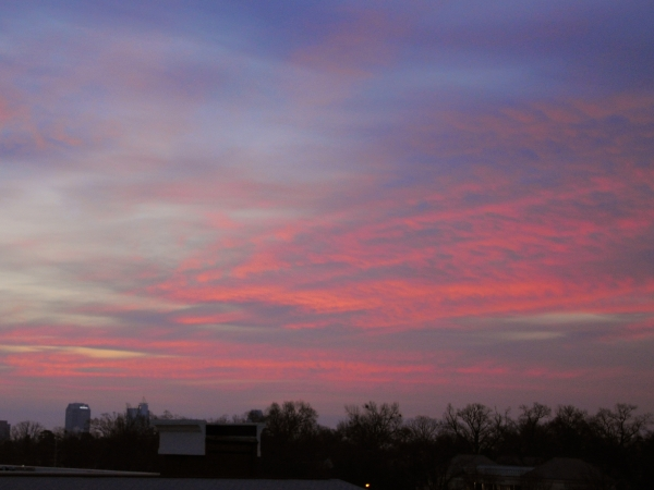 Raleigh Sunrise 20090210