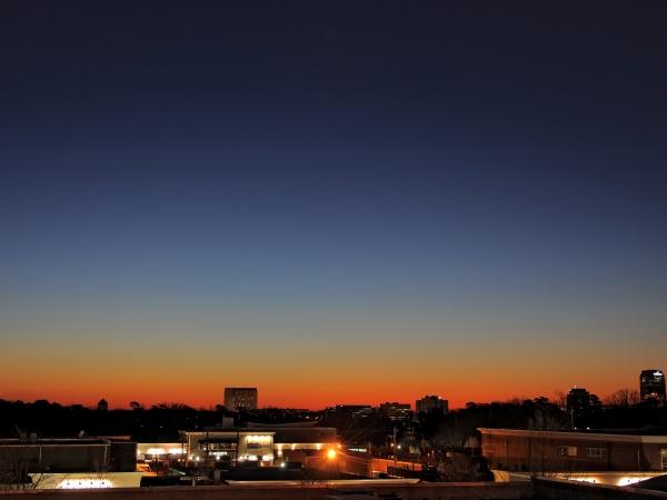 Raleigh Sunrise 20090213
