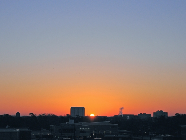 Raleigh Sunrise 20090221