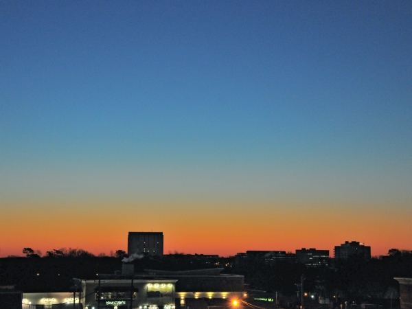 Raleigh Sunrise 20090224