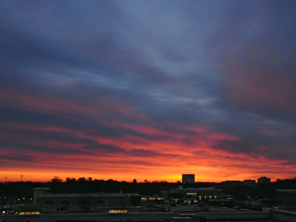 Raleigh Sunrise 20090225