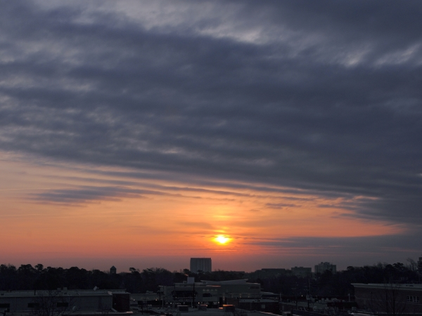 Raleigh Sunrise 20090226